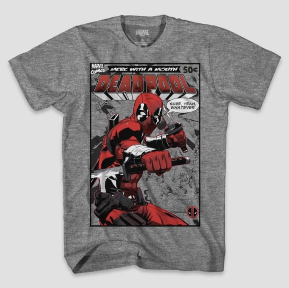 Deadpool Comic T-Shirt