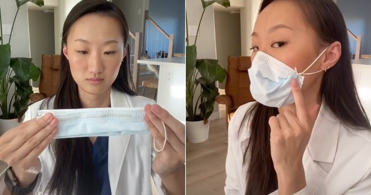 This Dentist's Face Mask Hack Is a Must For Anyone Who Can't Get a Tight Fit