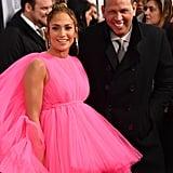 Jennifer Lopez and Alex Rodriguez at Second Act Premiere 2018