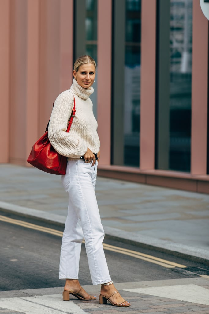 Mix 2 Shades of White and Forget About Your Blue Denim
