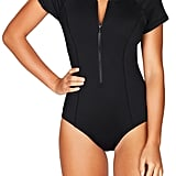 Sea Level Front Zip One-Piece Swimsuit