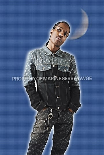 Marine Serre and A$AP Rocky's AWGE Clothing Collaboration
