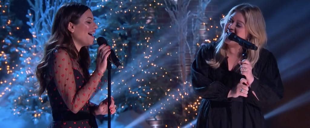 "Kelly Clarkson and Lea Michele's ""White Christmas"" Cover"
