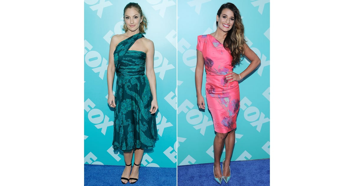 upfronts red carpet 2013 celebrity pictures popsugar
