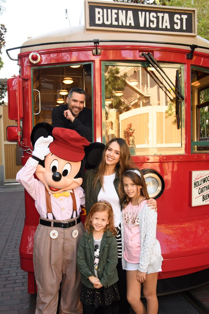 Disneyland has attracted plenty of celebrities over the years, from Gisele Bündchen and Tom Brady to Olivia Wilde and Jason Sudeikis. Millie Brown has gotten in on all the spooky fun at Disney World's Halloween festivities, while Gwen Stefani got festive in Disneyland alongside Donald Duck. Jessica Alba and her family are also big fans of the theme park. Get in the Disney spirit by taking a look at all the celebrities who have visited the happiest place on Earth, then check out sweet pictures of famous families at the magical parks.