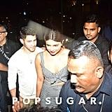 Nick Jonas and Priyanka Chopra in India June 2018