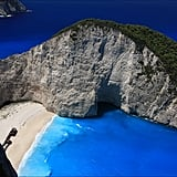 Pictures of Shipwreck Beach in Greece