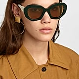 Marni Cat-Eye Two-Tone Acetate Sunglasses