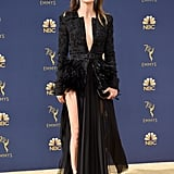 Keri Russell's Black Dress at the 2018 Emmys