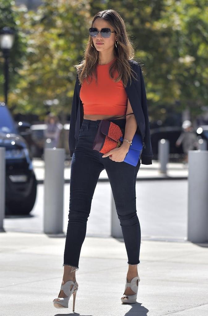 Jessica Alba 39 S Best Street Style 2016 Popsugar Latina