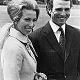 Princess Anne and Mark Phillips Engagement Announcement, May 1973