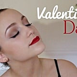 Classic and Girlie Valentine's Day Makeup Tutorial