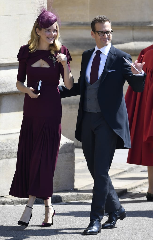 suits cast at the royal wedding 2018 popsugar