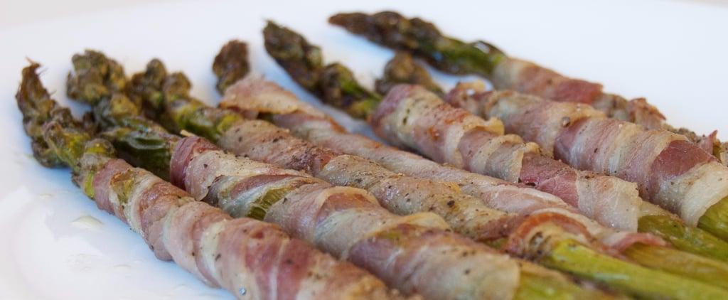 Pancetta-Wrapped Asparagus Recipe | POPSUGAR Food