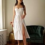 Reformation Prune Dress