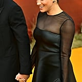Pictured: Meghan Markle at The Lion King premiere in London.