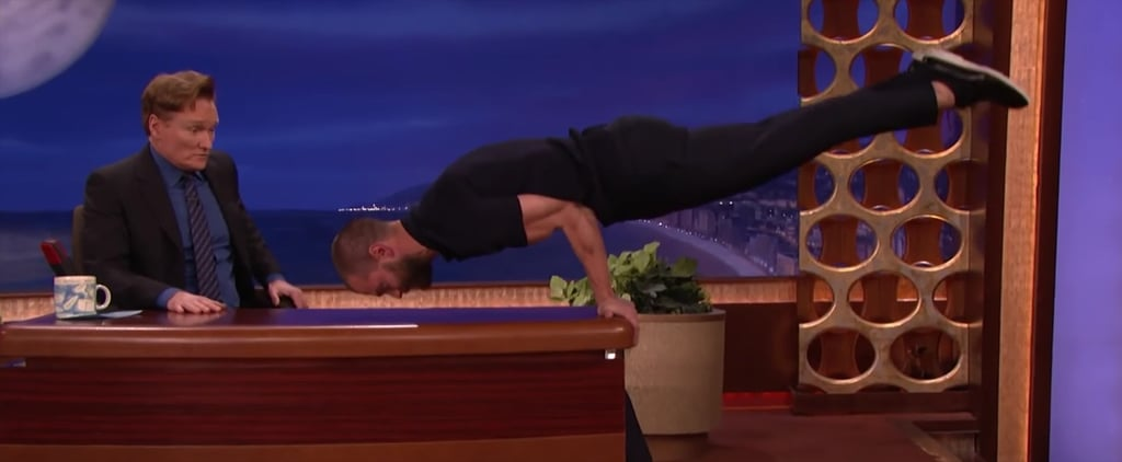 Jamie Dornan's Party Trick Is Just as Impressive as It Is Sexy