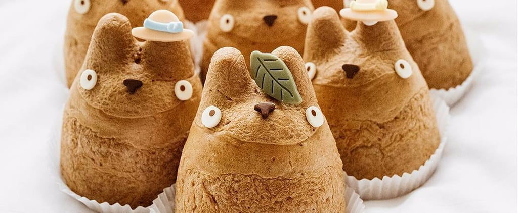 Find Out Where You Can Try These Totoro Cream Puffs —They're ALMOST Too Cute to Eat