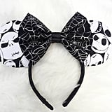 Nightmare Before Christmas Ears With Spider Bow ($20)