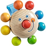 Clown Buggy Play Figure Wooden Rattle