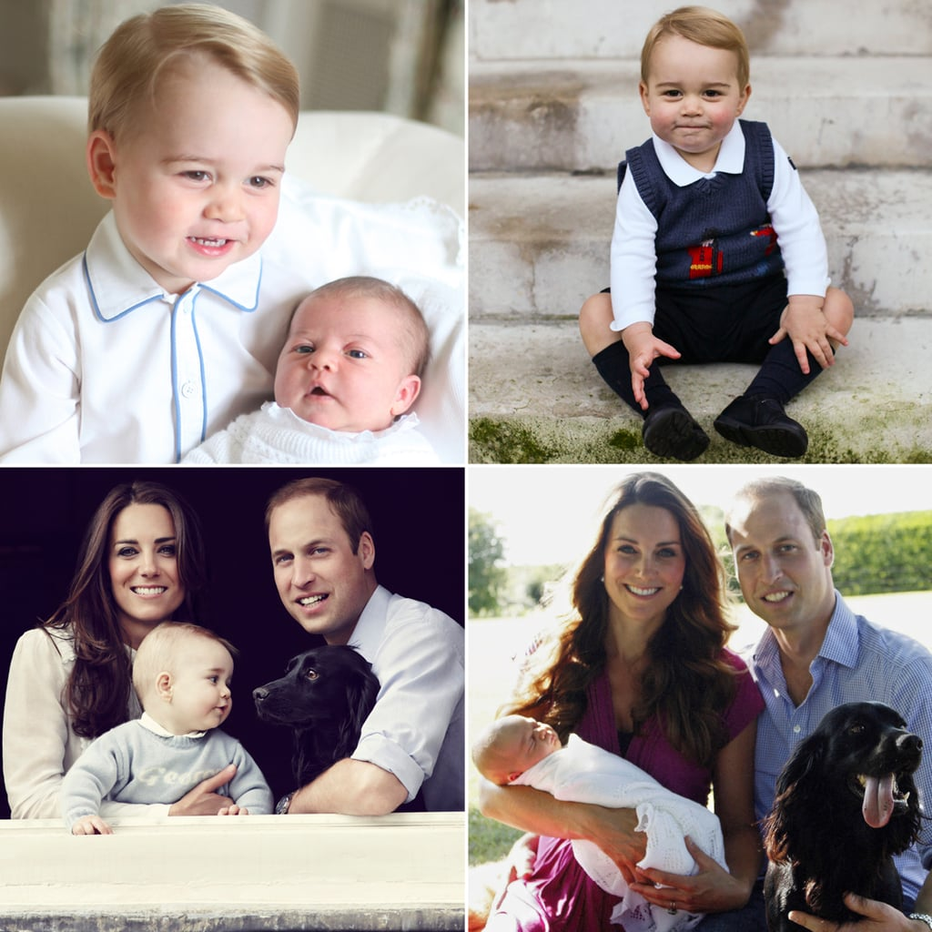 Like Brother, Like Sister! Compare Prince George's and Princess Charlotte's Portraits