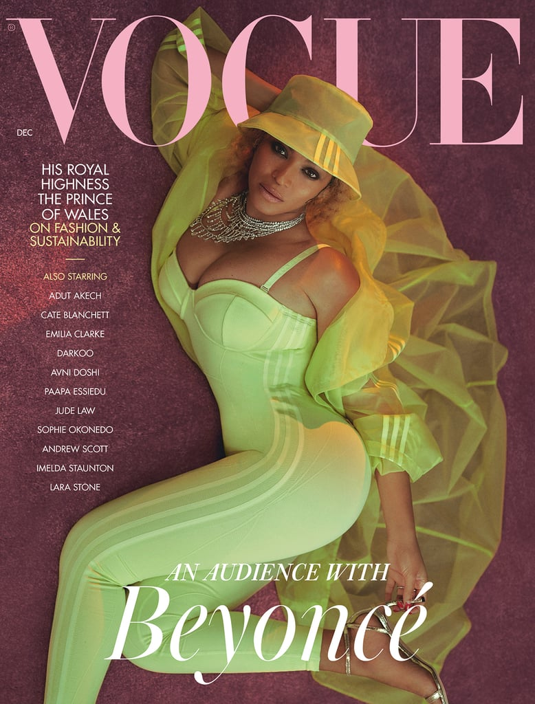 Beyoncé Wearing Ivy Park on British Vogue's December 2020 Cover