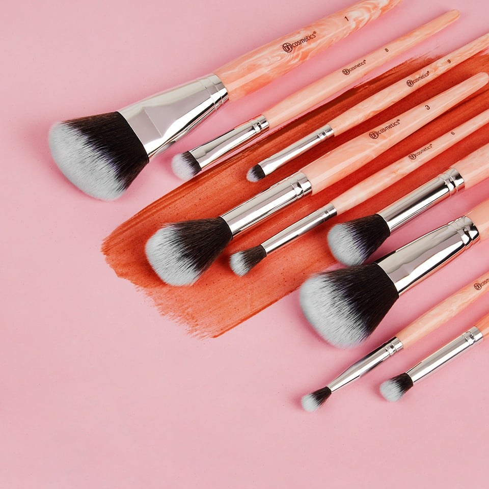 BH Cosmetics Rose Quartz Brush Set | POPSUGAR Beauty