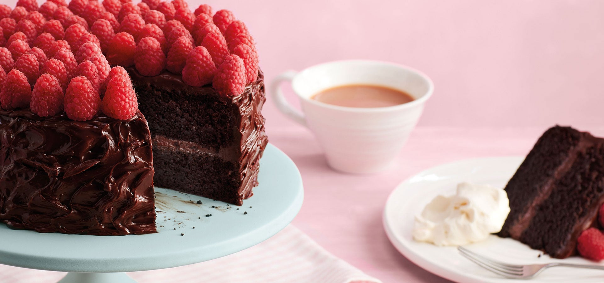 The first recipe in the Bake Off Box is a signature chocolate cake