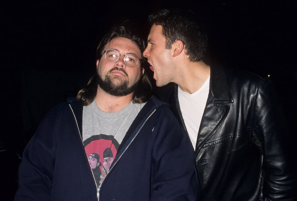 And Ben Affleck licked Kevin Smith's face.