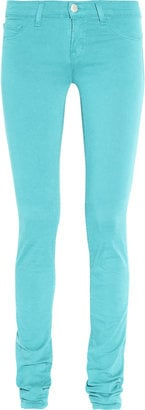 J Brand Turquoise Skinny Jeans ($175)