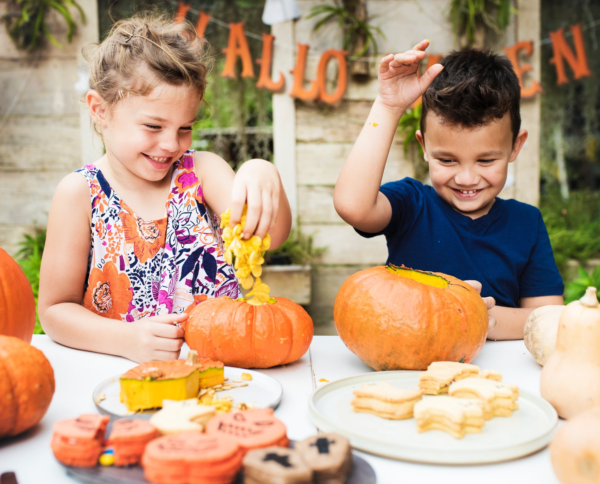 An Easier Way To Carve Pumpkins With Kids Popsugar Family