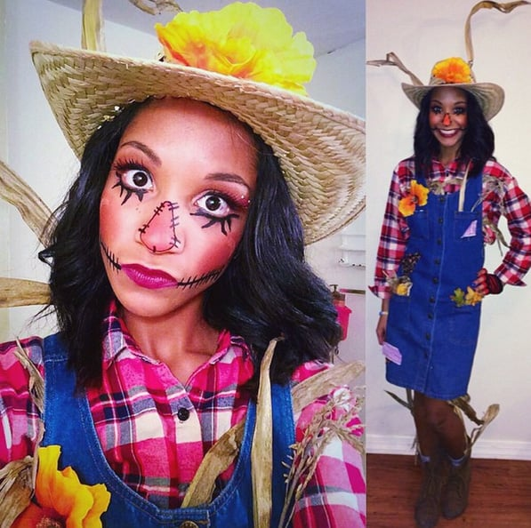 Scarecrow clever and easy diy halloween costumes popsugar scarecrow solutioingenieria Images