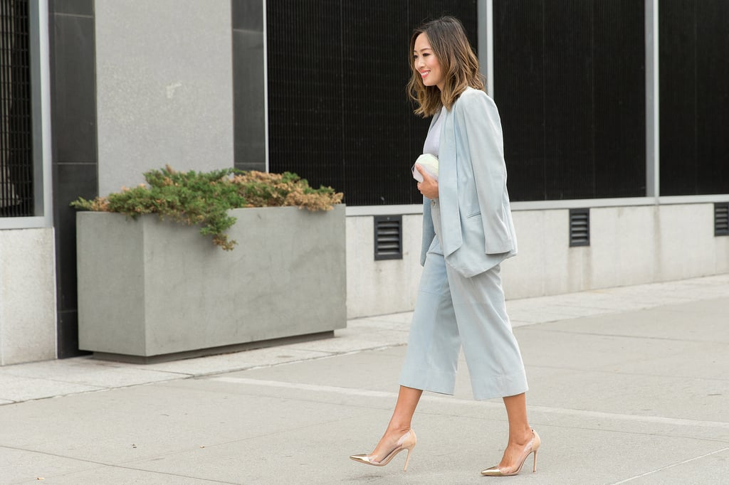 A Powdery-Hued Suit