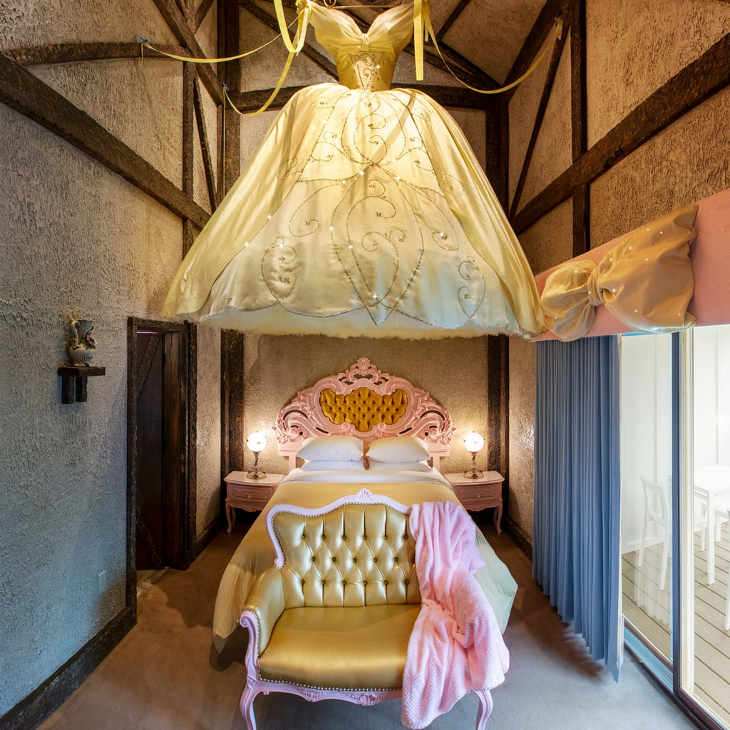 Whimsical Cinderella Motel Room at the Roxbury Hotel in NY