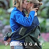 Justin Bieber and Hailey Baldwin Kissing September 2018