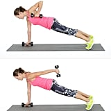 Plank With Row and Triceps Extension