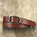 Essential for cinching in dresses or sweaters.  Skinny Belt ($55)