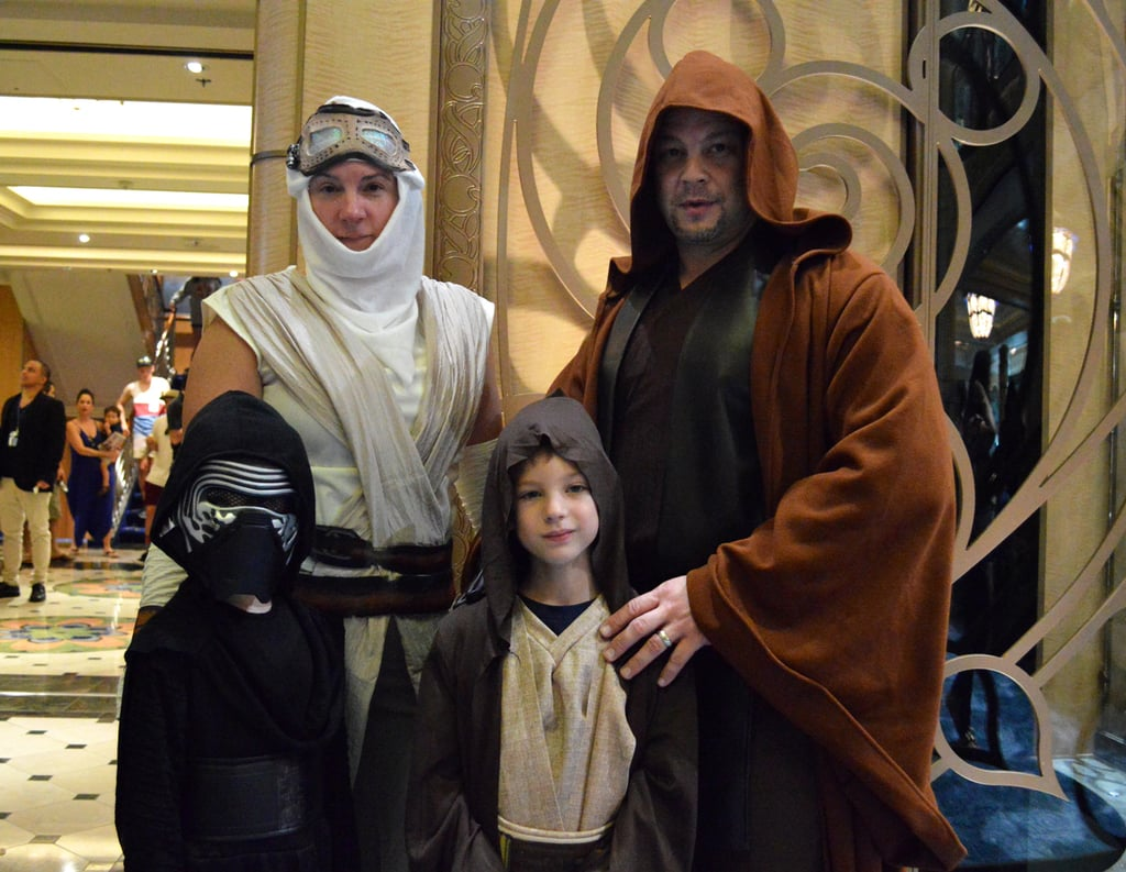 Kylo Ren, Rey, Anakin Skywalker, and Luke Skywalker   Star ...