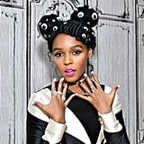 Janelle Monáe Googly Eyes Hair