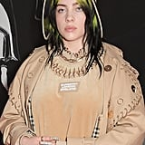 Billie Eilish at the 2020 BRIT Awards in London