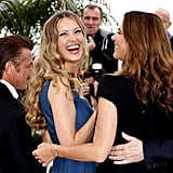 Petra Nemcova had a laugh while attending the Cannes Film Festival.
