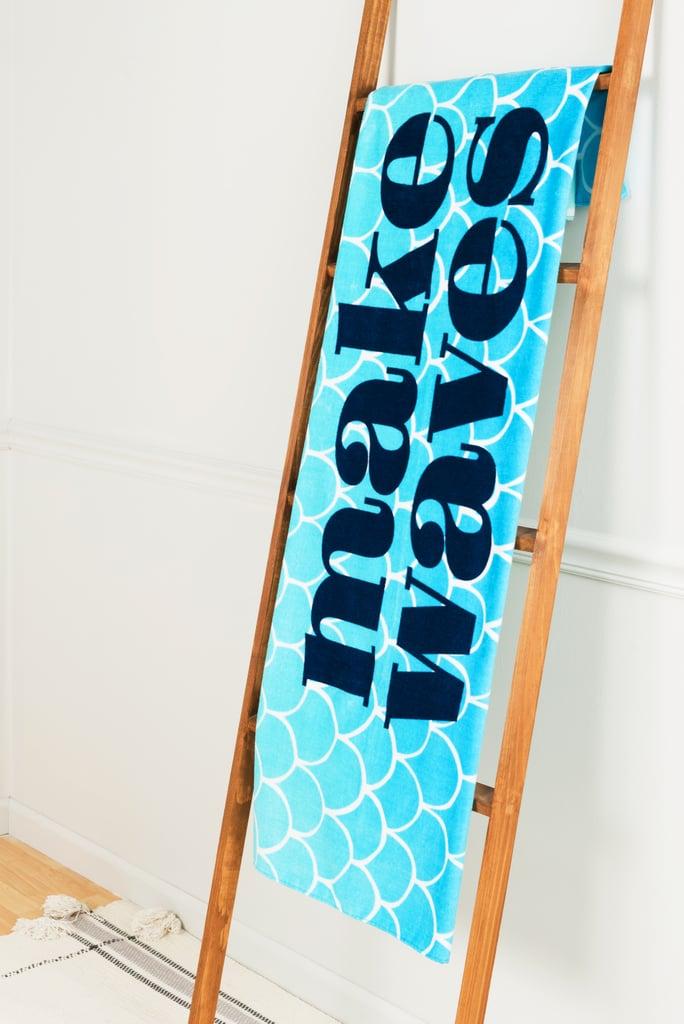 Ariel: Disney Princess X POPSUGAR Ariel Beach Towel