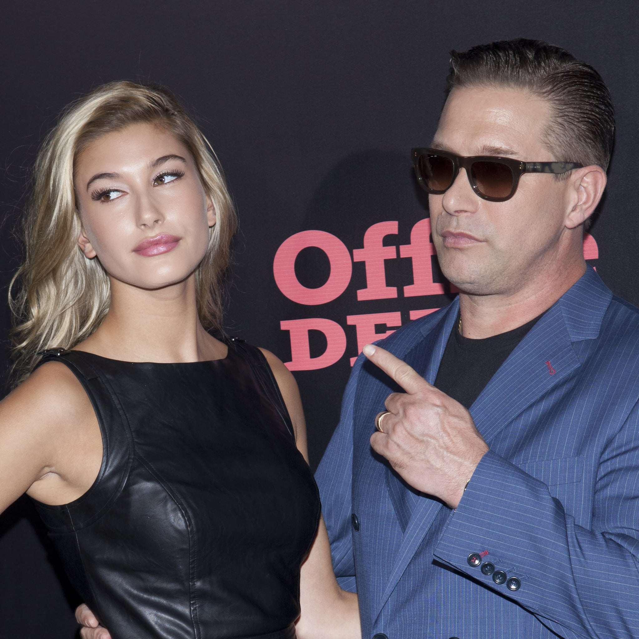 Hailey Bieber And Stephen Baldwin S Father Daughter Photos Popsugar Celebrity