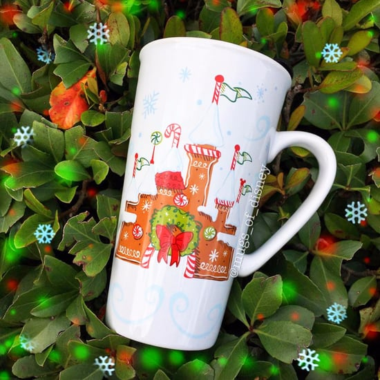 Disney Parks Starbucks Holiday Mug 2017