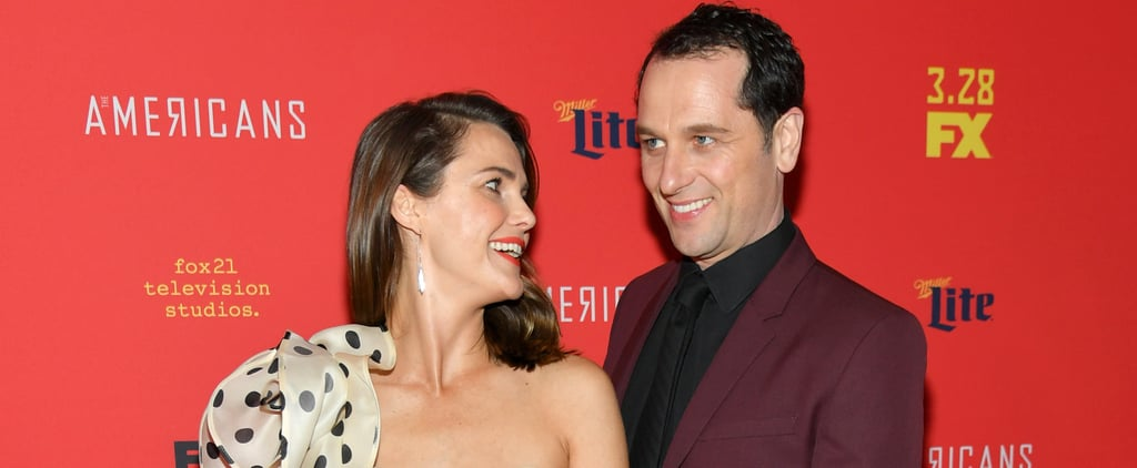 Keri Russell Caught an Adorable Case of the Giggles on the Red Carpet With Matthew Rhys