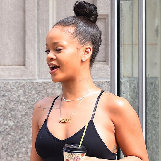 Rihanna Out in NYC August 2016
