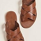 Madewell The Boardwalk Woven Slide Sandals