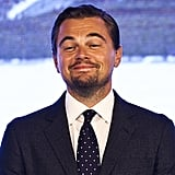 Leonardo DiCaprio Pulls Hilarious Faces at a Press Conference, Proves He's Still Your No. 1 Crush