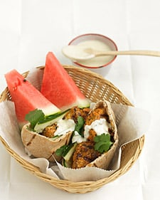 Fast & Easy Recipe For Tandoori-Style Chicken Burgers