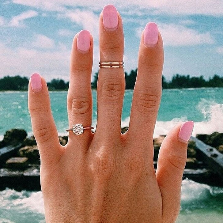 Engagement Ring Selfie Photos on Instagram